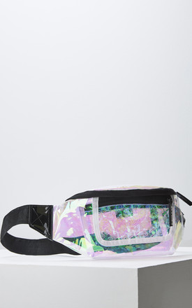 Crystal Bum Bag in Holographic by Slydes Footwear