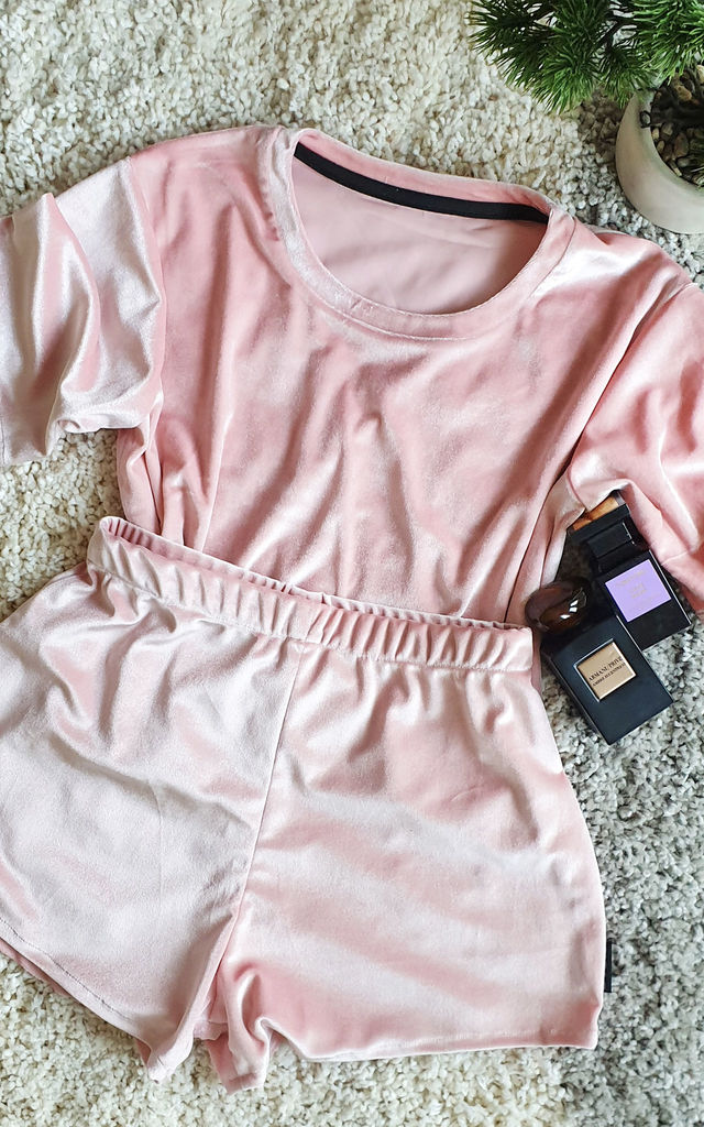 Victoria lounge set Blush Pink by BVSIC London