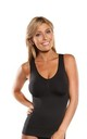 Beauforme Seamless Control Vest Top in Black by BB Lingerie