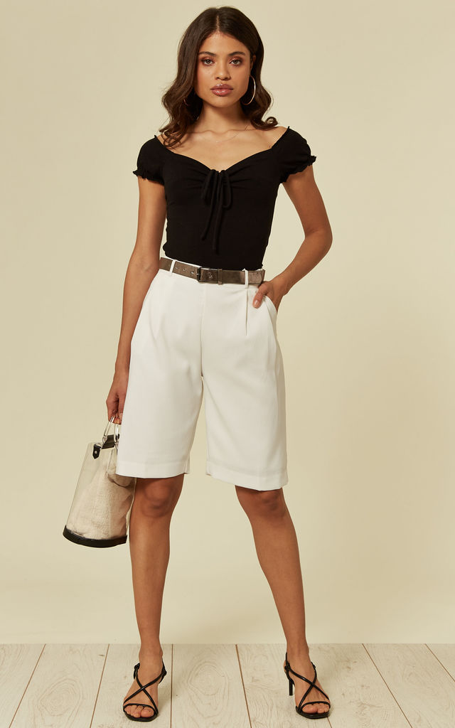 Culottes in White by Madam Rage