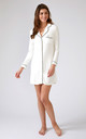 Womens Bamboo Nightshirt Cream by Pretty You London