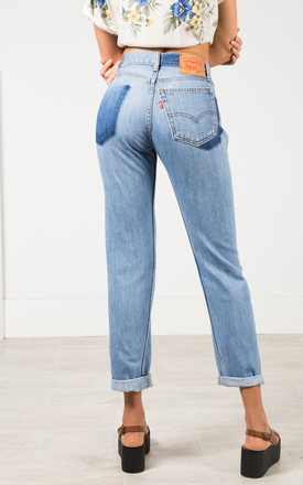 Vintage 80s Levi's Reworked Pocket Mom Jeans Light Wash / 0217 by Avelinas Vintage