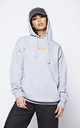 'FAITH' NEON Slogan Grey Hoodie With Front Pocket' by The ModestMe Collection