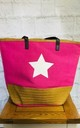 Star Large Beach Bag (Pink) by Pink Lemonade Boutique