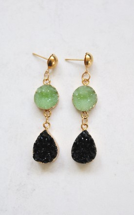 Aurora Jade Earrings by AVAAYA Product photo
