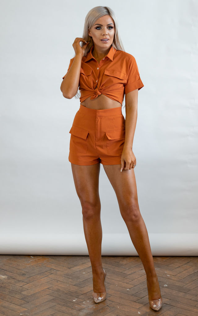 Frankie Top and Short Set by Brand Moda