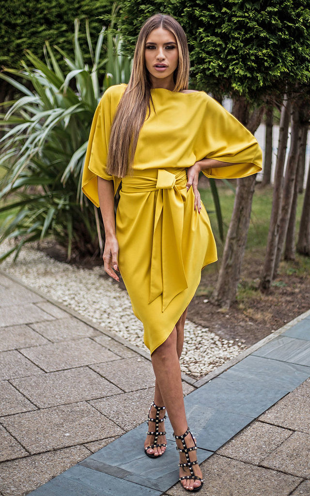Yellow Emy Floaty Sleeveless Dress by Rag & Doll