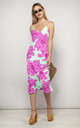 Jade Dress Pink and Mint Bloom by Dancing Leopard