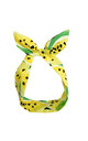 Lemon and Lime Print Wired Headband by LULU IN THE SKY