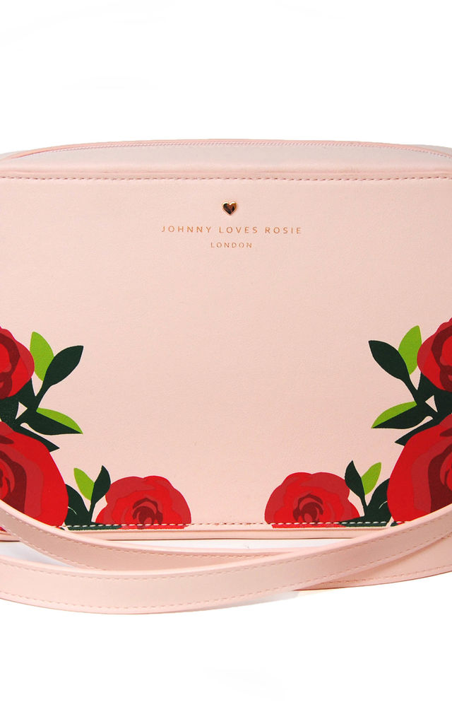 Blush Rose Print Crossbody by Johnny Loves Rosie