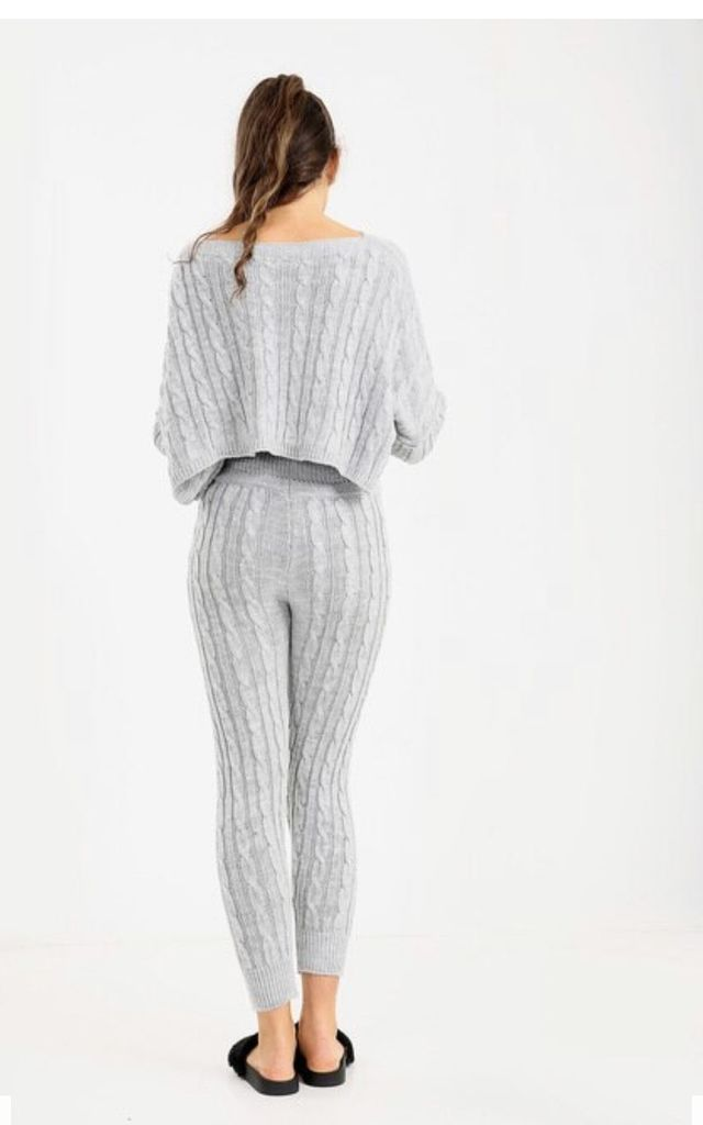 Cable Knit loungewear by Brand Moda