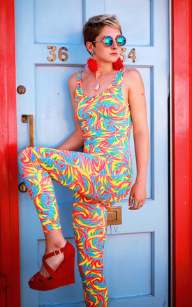 Jolly Lolly Catsuit by Dazzle & Jolt