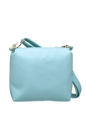 SHOULDER BAG WITH A TASSEL GREEN by BESSIE LONDON
