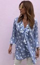 HUDSON KAFTAN in Blue Daisy by Libby Loves