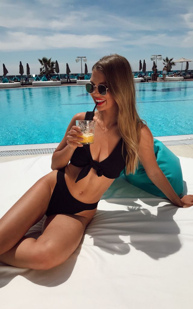 Riva Bikini Bottoms - Black by Pretty Lavish