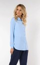 Classic Loose Shirt in Blue by Bergamo