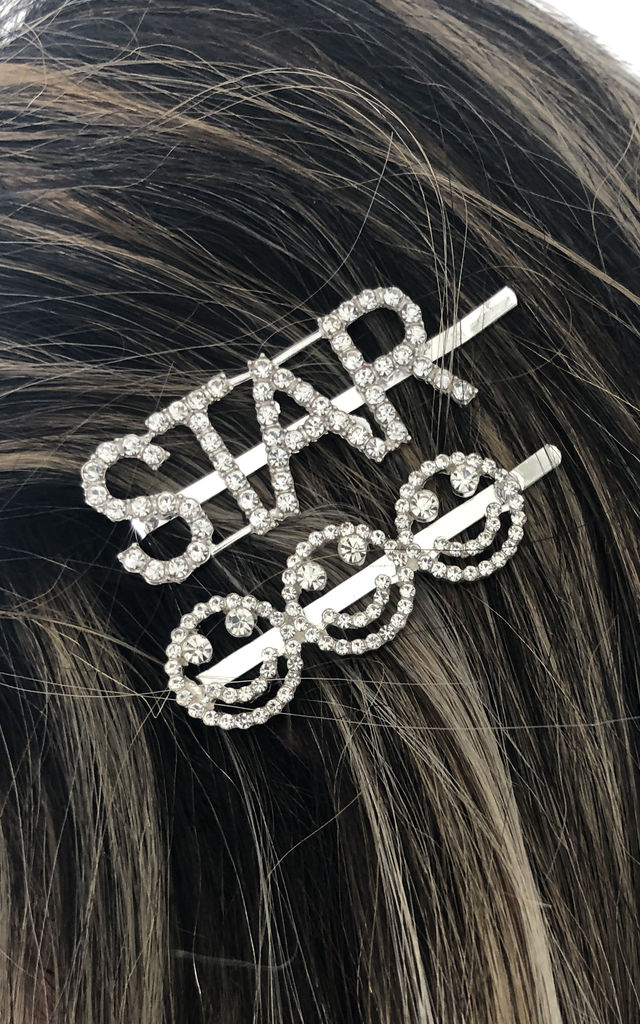 Crystal Rhinestone Hair Pins Set by Find the Light