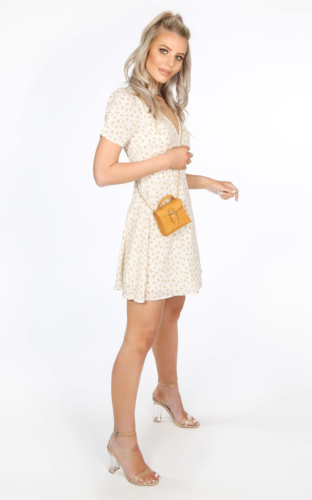 Mustard Micro Tote Bag by Dressed In Lucy