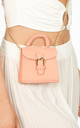 Coral Micro Tote Bag by Dressed In Lucy