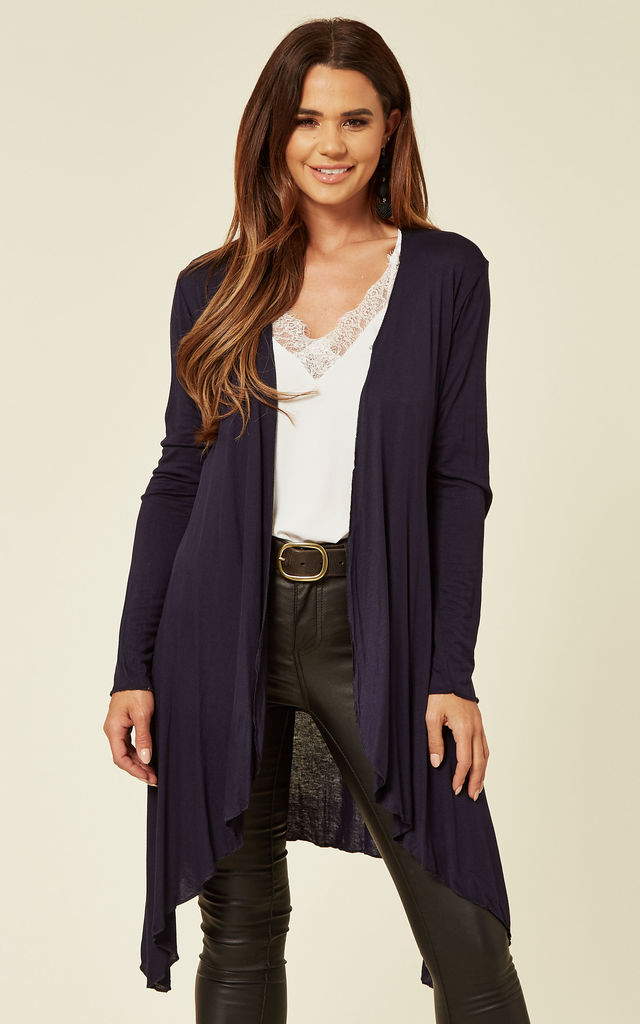 AKAYLA- Navy cardigan by Blue Vanilla