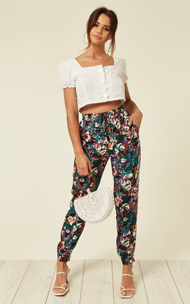 Tropical paisley pant by Madam Rage
