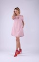 Skater Dress In Light Pink by Bergamo