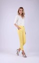 7/8 Trousers with two Pockets in Yellow by Bergamo
