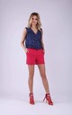 Shorts with Pockets in Dark Pink by Bergamo