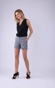 Shorts with Pockets in Little Check by Bergamo