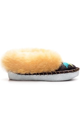 The Original Embroidered Sheepskin Slippers by Sheepers
