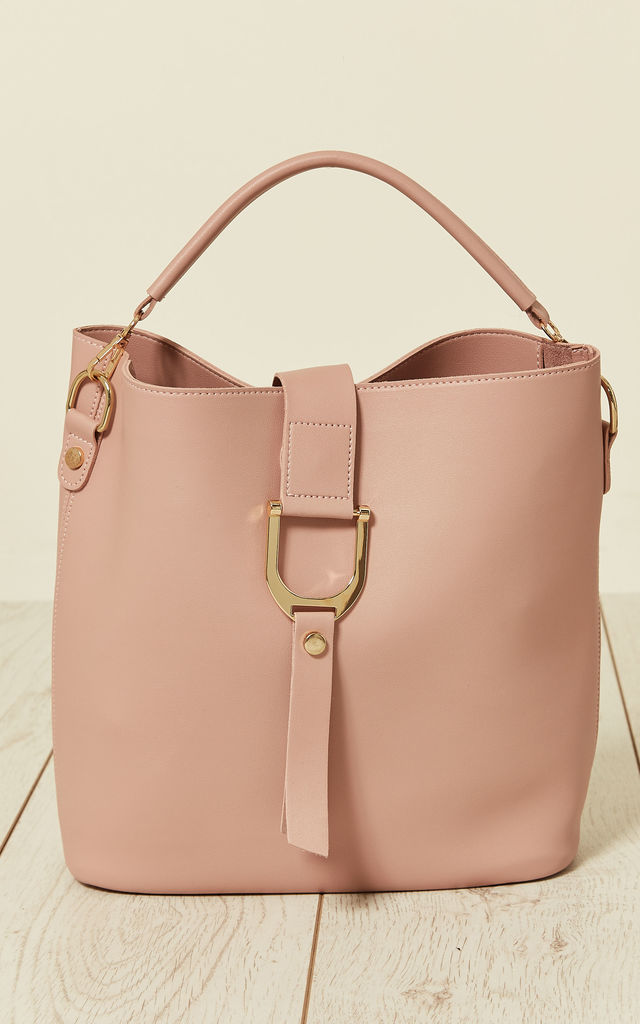 Sporty Style Bag in a Bag in Pink by Malissa J Collection