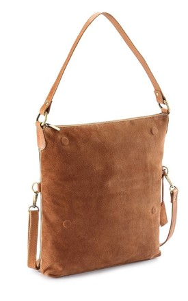 Metallic Multi Purpose Bag in Tan Brown/Copper by hydestyle london