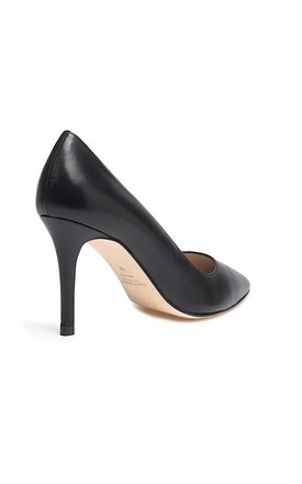 Mia Black High Heel Court Shoes by Susana Cabrera Shoes