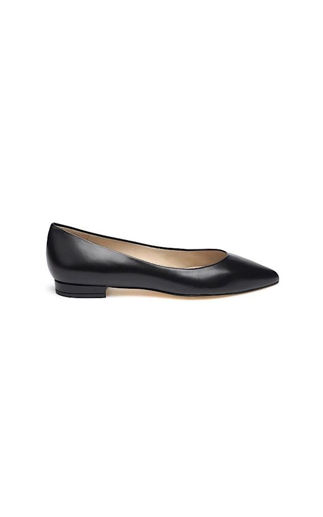 Gloria Black ballet pumps by Susana Cabrera Shoes