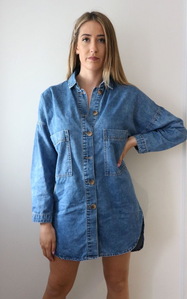 7d3e8c1816e Denim Shirt Dress | Unscripted | SilkFred