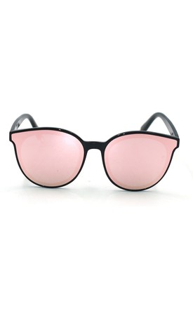 Ame Mirror Cat Eye Pink Sunglasses by Don't Be Shady