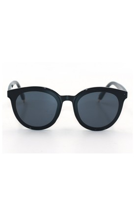 Ame Mirror Cat Eye Black Sunglasses by Don't Be Shady