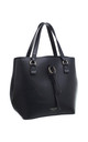 URBAN HANGING DROP SHOPPER BAG in BLACK by BESSIE LONDON
