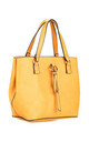 URBAN HANGING DROP SHOPPER BAG in YELLOW by BESSIE LONDON