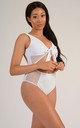 Miami Mesh One Piece Swimsuit in White Sand by sHe LoveSwim