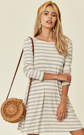 Striped Swing Dress by Oeuvre Product photo