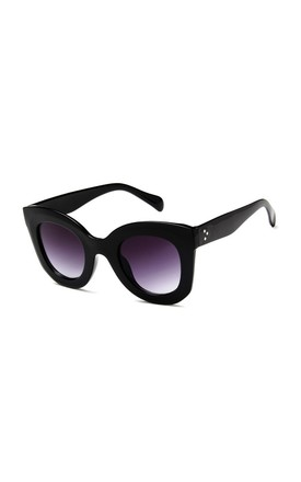 Emma Oversized Black Sunglasses by Don't Be Shady