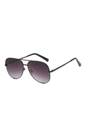 Rachael Aviator Black Sunglasses by Don't Be Shady