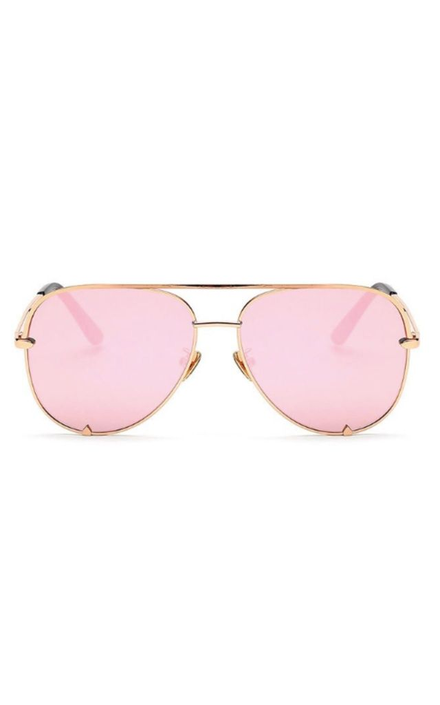 Rachael Aviator Pink Sunglasses by Don't Be Shady
