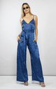 GABRIELLA JUMPSUIT IN BLUE DITZY LEOPARD by Dancing Leopard