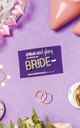Crystal Word Bobby Pin - BRIDE by Crown and Glory