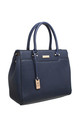 MULTI COMPARTMENT OFFICE TOTE NAVY by BESSIE LONDON