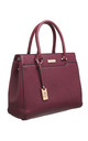MULTI COMPARTMENT OFFICE TOTE PURPLE by BESSIE LONDON