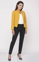 Classic Short Jacket in Yellow by Bergamo
