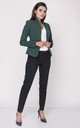 Classic Short Jacket in Green by Bergamo